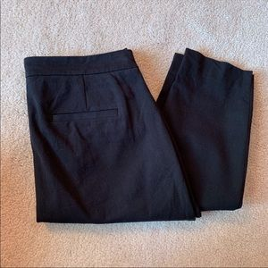 J.Crew Black Martie Pants